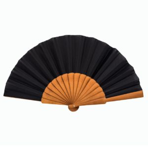Small Black Hand Fan